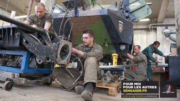 Les Metiers De La Maintenance De L Armee De Terre Dossier Emploi
