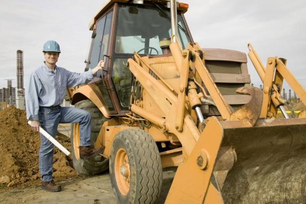 travailler dans le btp : le Conducteur d'engins de chantier
